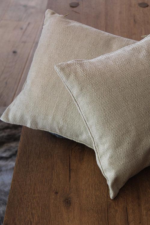 Coppia di cuscini beige