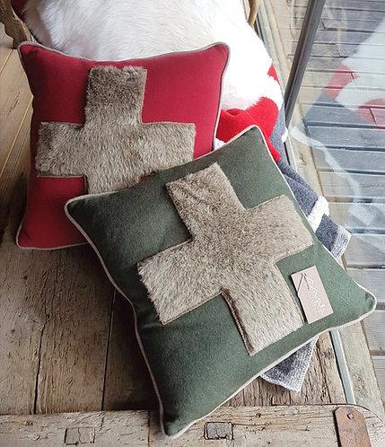 Cuscini croce set da 2