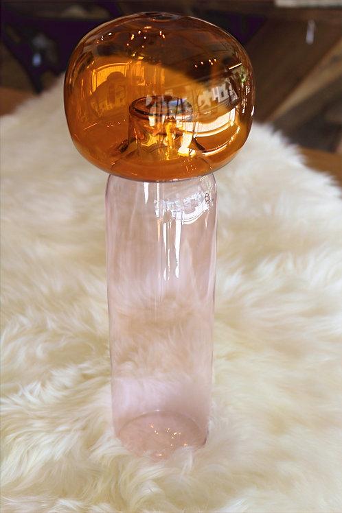 Kokeshi bottiglia rosa