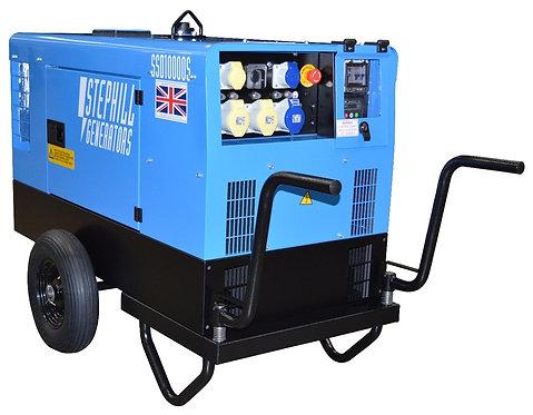 Diesel 10kva Silent 110/240v Generator