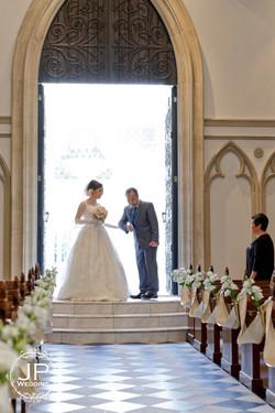 童話式古堡教堂婚禮
