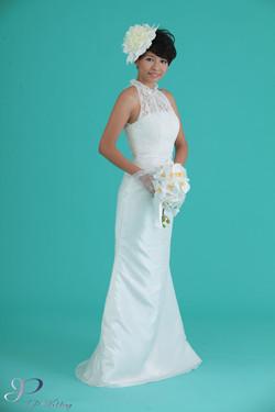 JP Wedding 短髮新娘造型