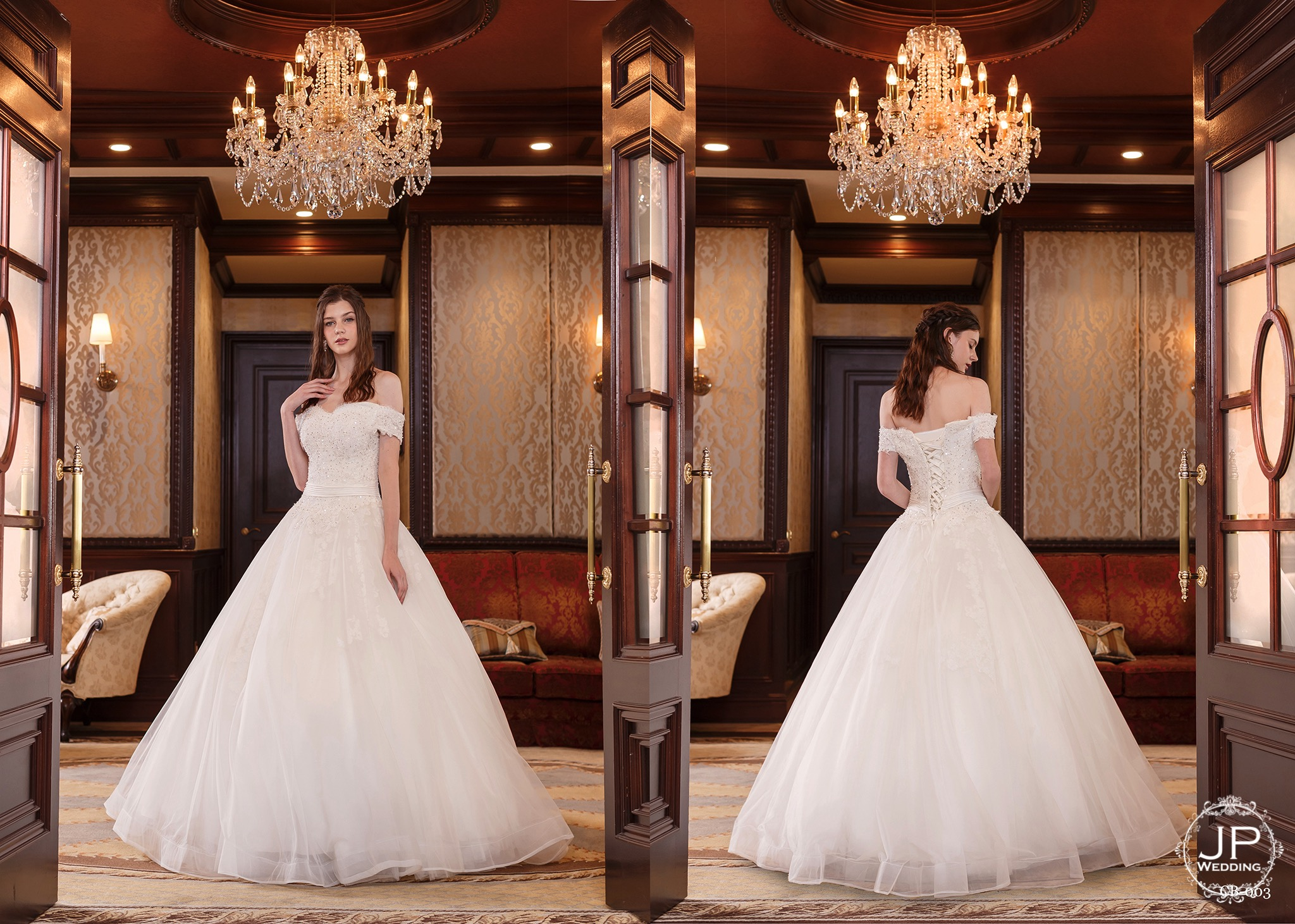 JP Wedding.高級日本婚紗-4