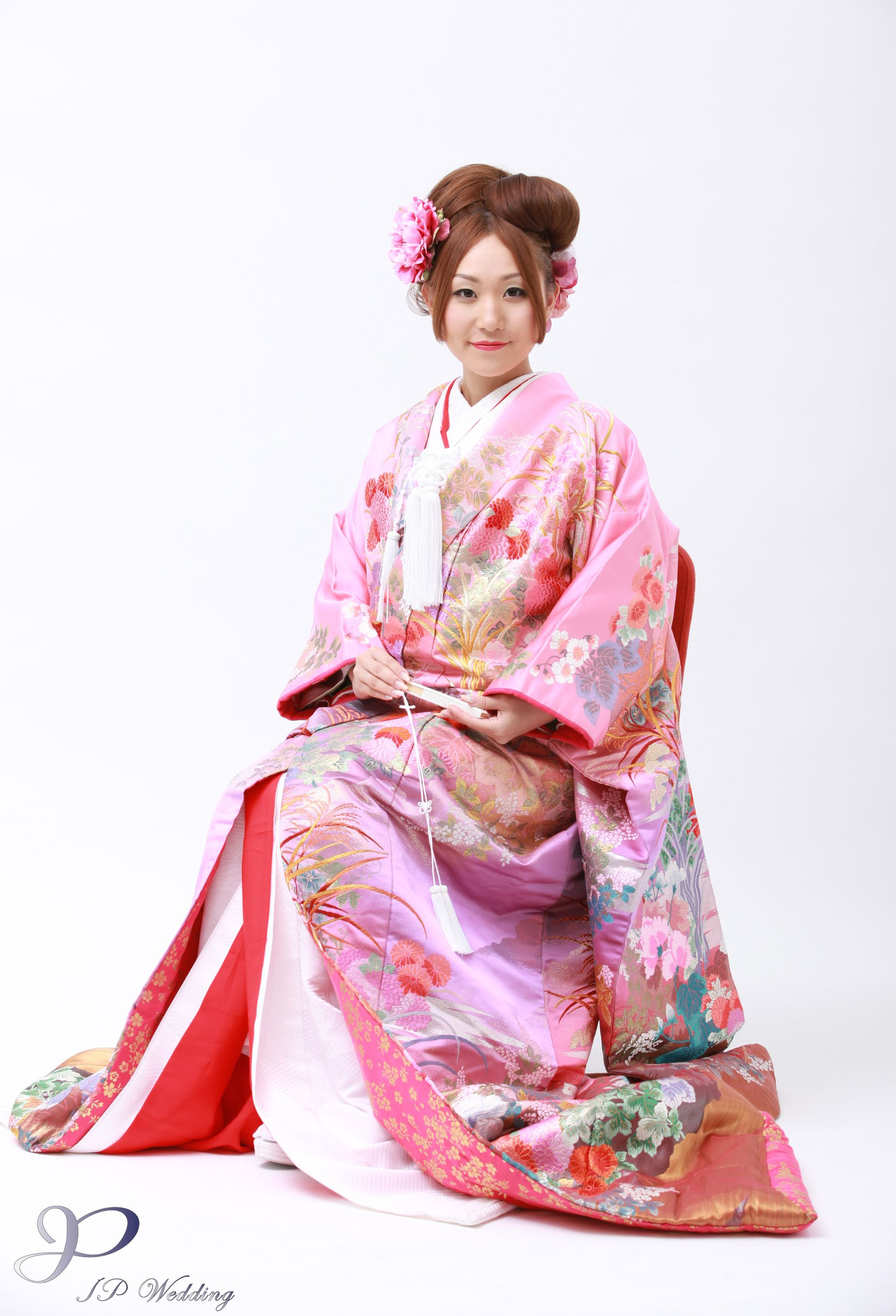 kimono makeup and hair styling HK