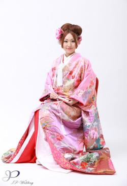 kimono makeup and hair styling HK
