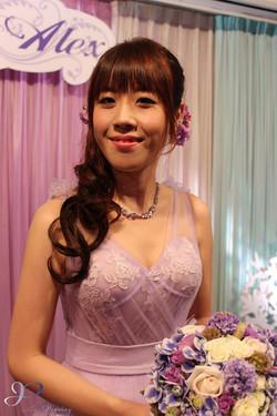 Wedding Makeup HK ブライダルメイク香港