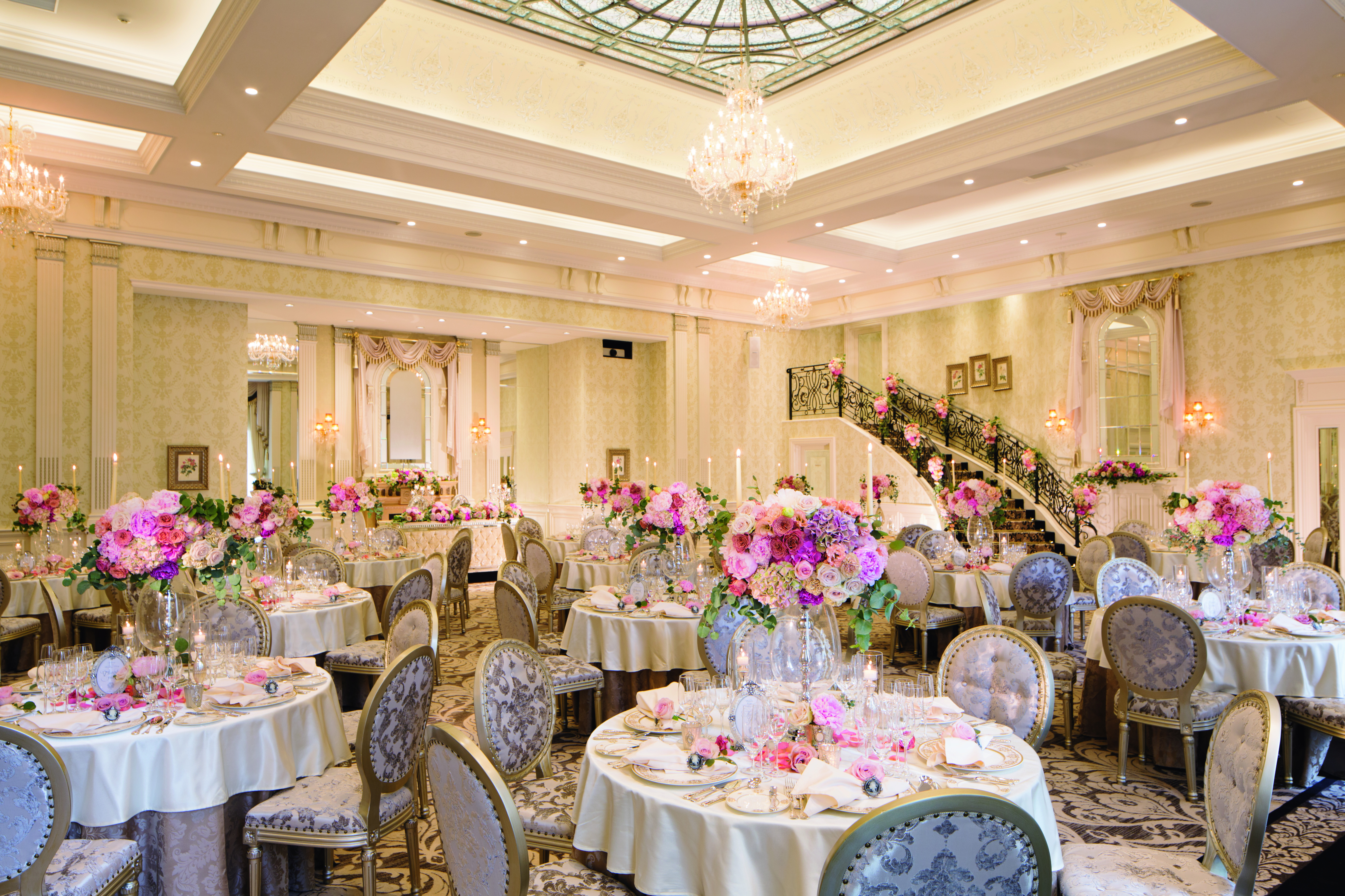 Japan Wedding Banquet HK百花籠
