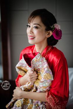 JP Wedding Chinese Style Makeup