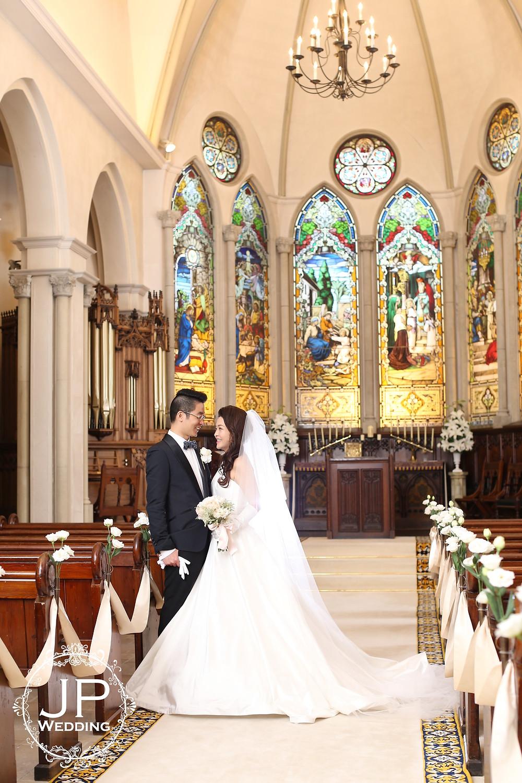 海外婚禮(日本教堂)