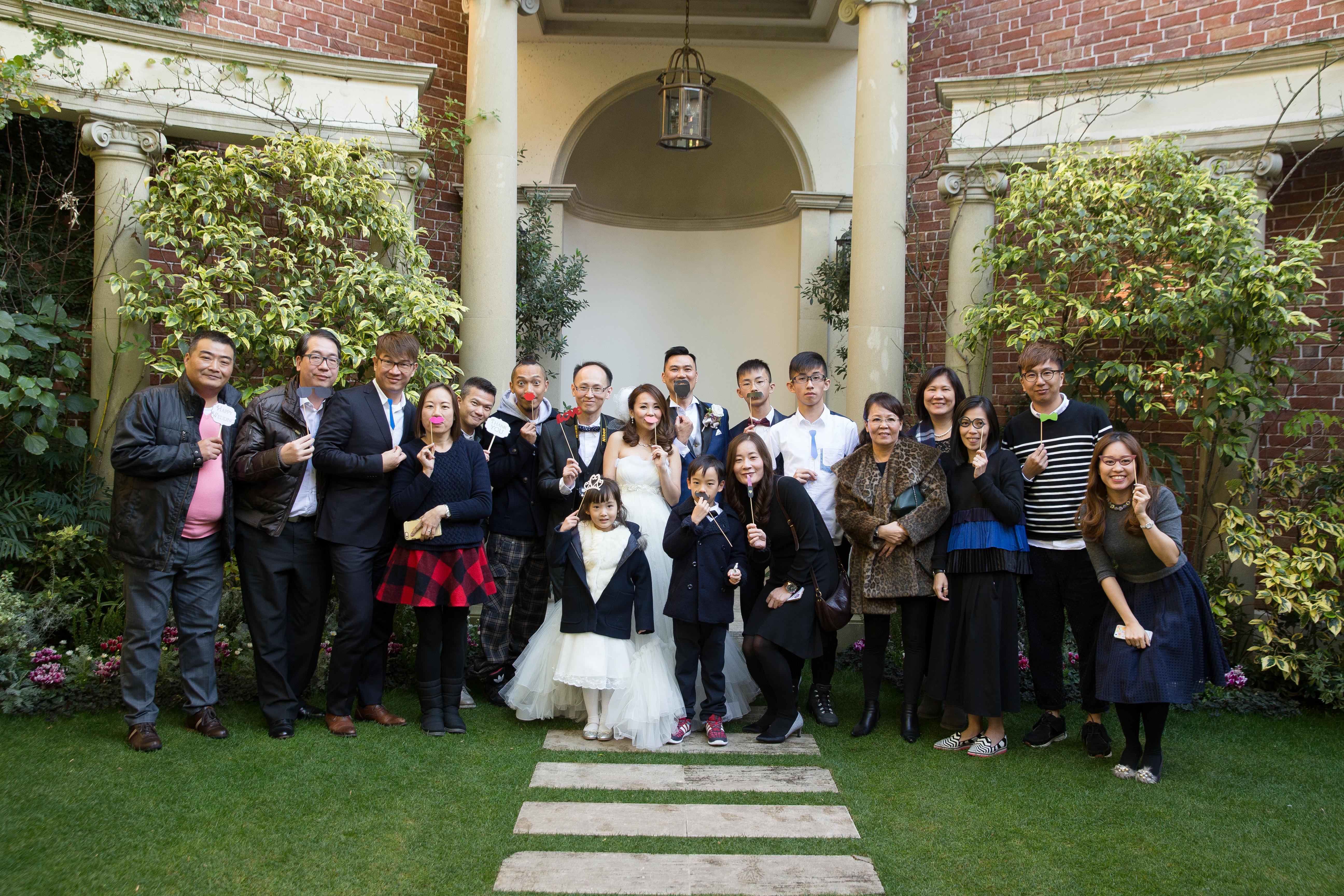 日本花園婚禮
