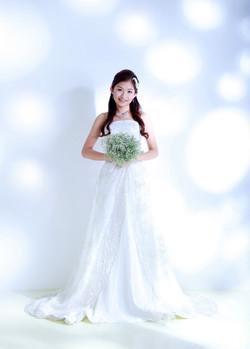 natural bridal styling-婚紗攝影化妝服務