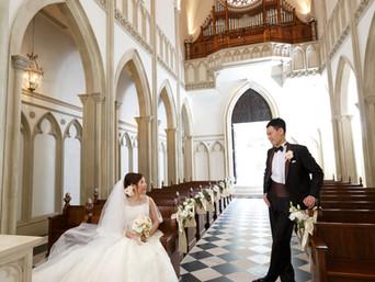 名古屋婚禮儀式﹣教堂Glastonia