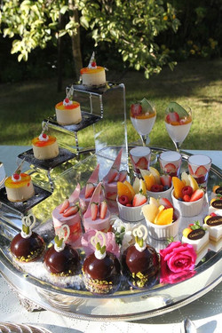 Tokyo sweet wedding buffet