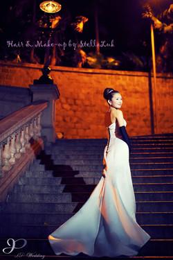 JP Wedding Bridal Makeup高貴復古新娘造型
