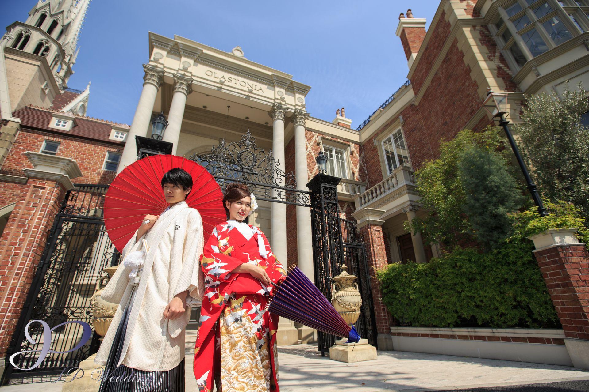 Japan kimono prewedding photography