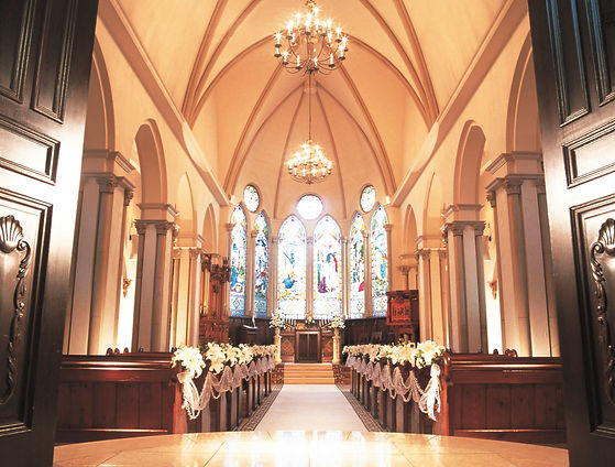 Japan Tokyo Wedding Ceremony英式教堂