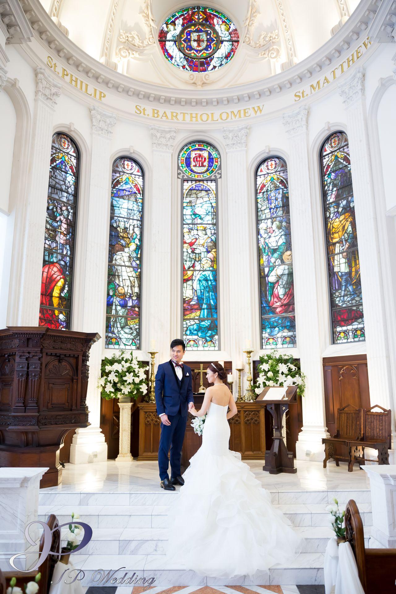 香港日本婚禮服務,教堂百花籠