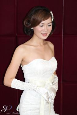 Vintage Bridal Makeup & Hair