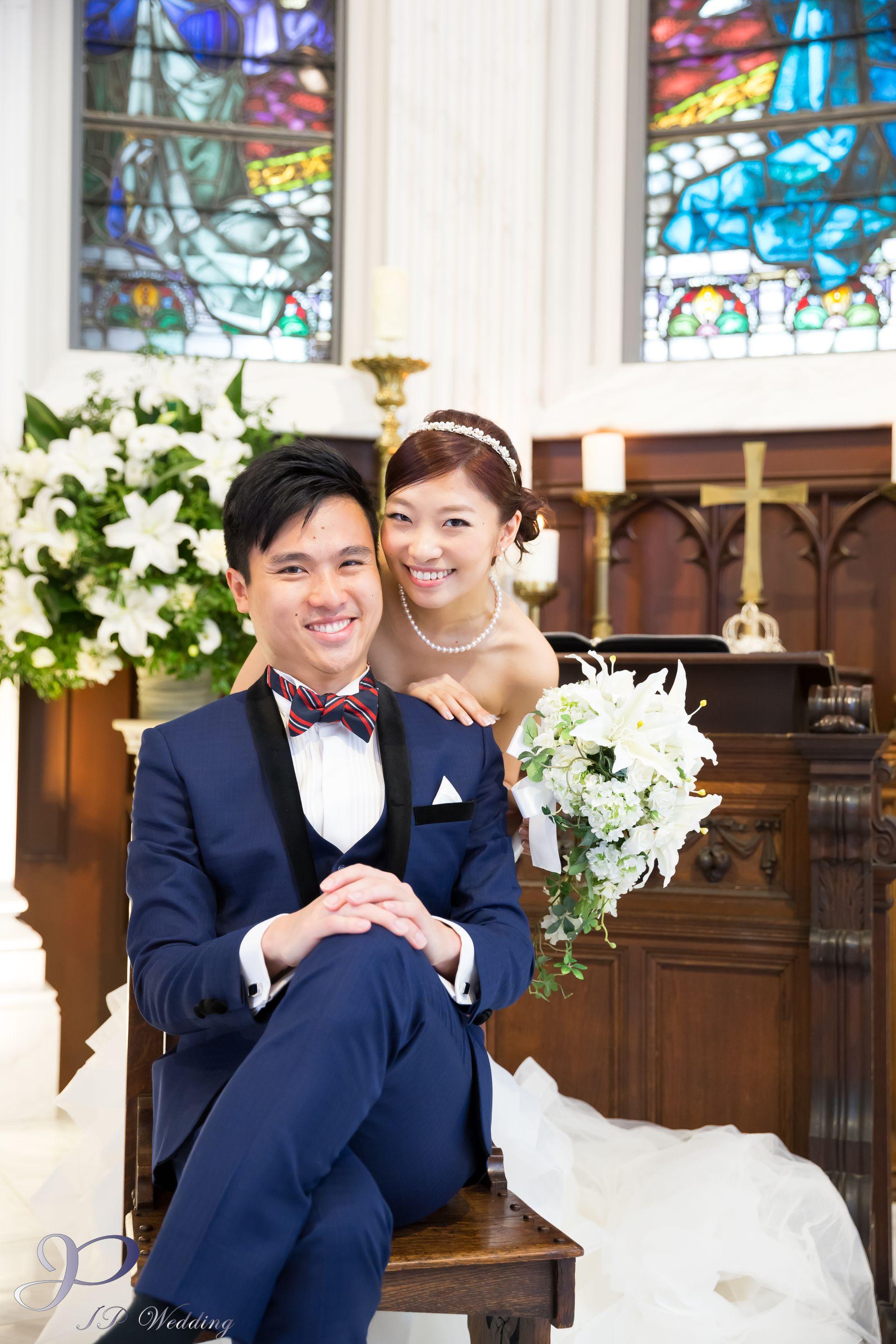 日本教堂婚紗攝影