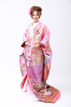 kimono makeup and hair styling和服拍攝化妝