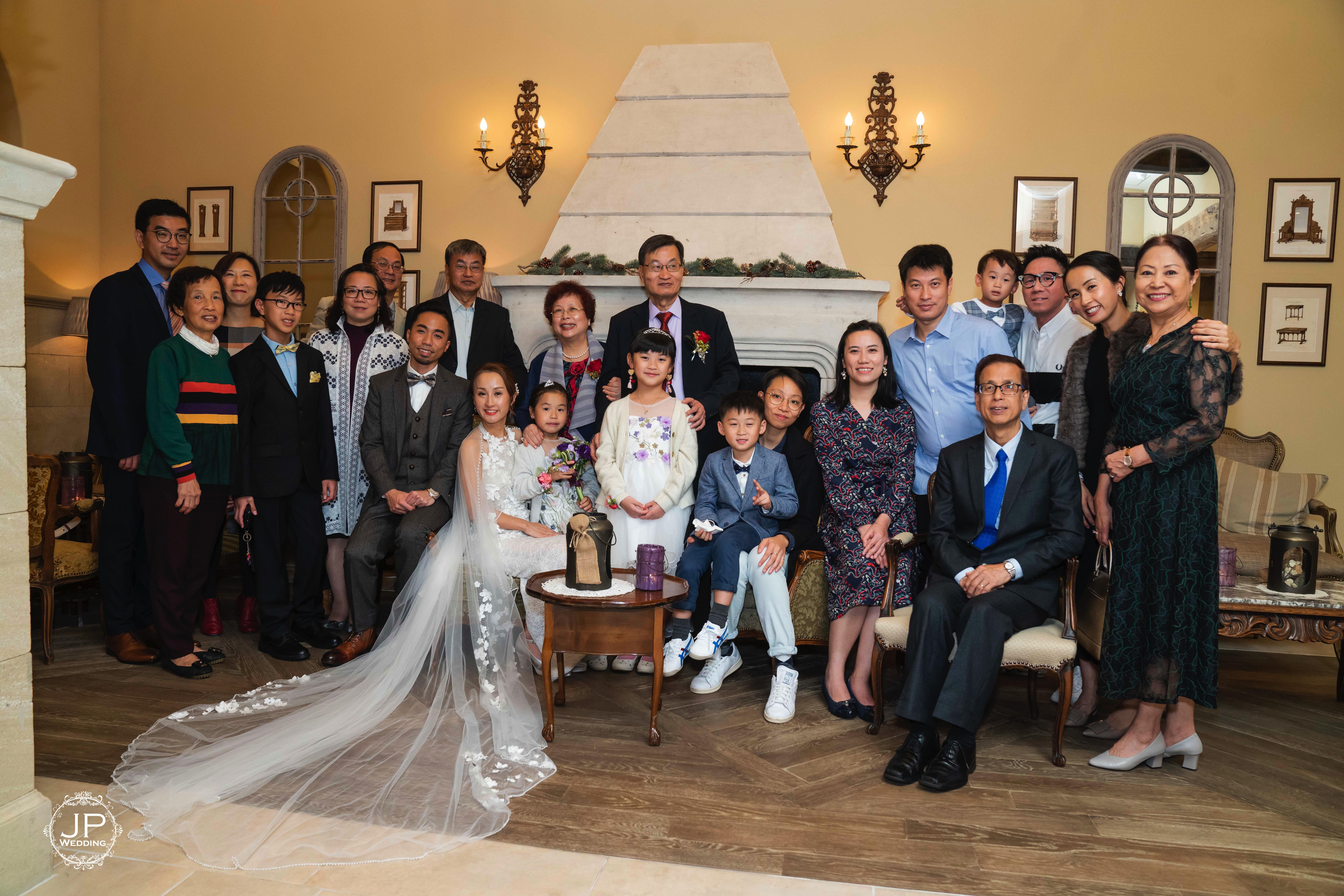 Heart Court, JP Wedding. HK-10
