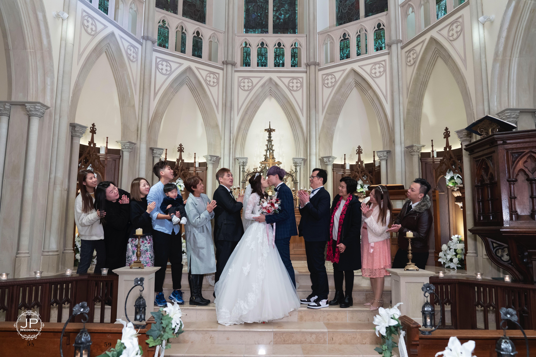 日本婚禮Heart Court。JP Wedding