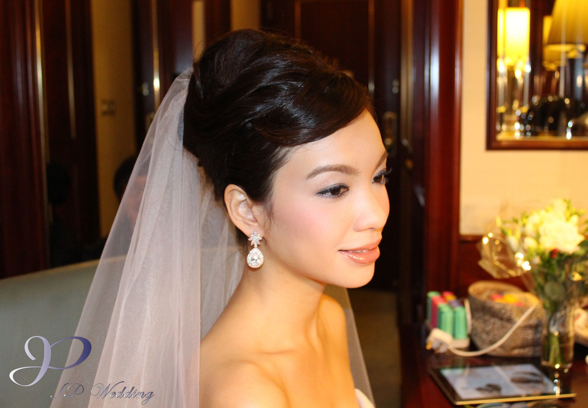 JP Wedding, hotel bridal makeup