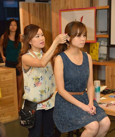 Hong Kong Makeup & Hair Artist Stella Look