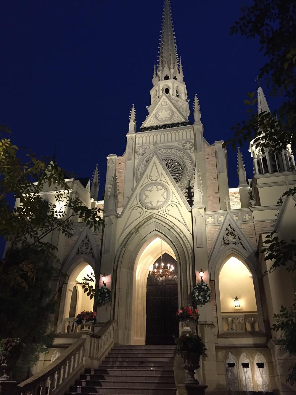 香港東京教堂婚禮