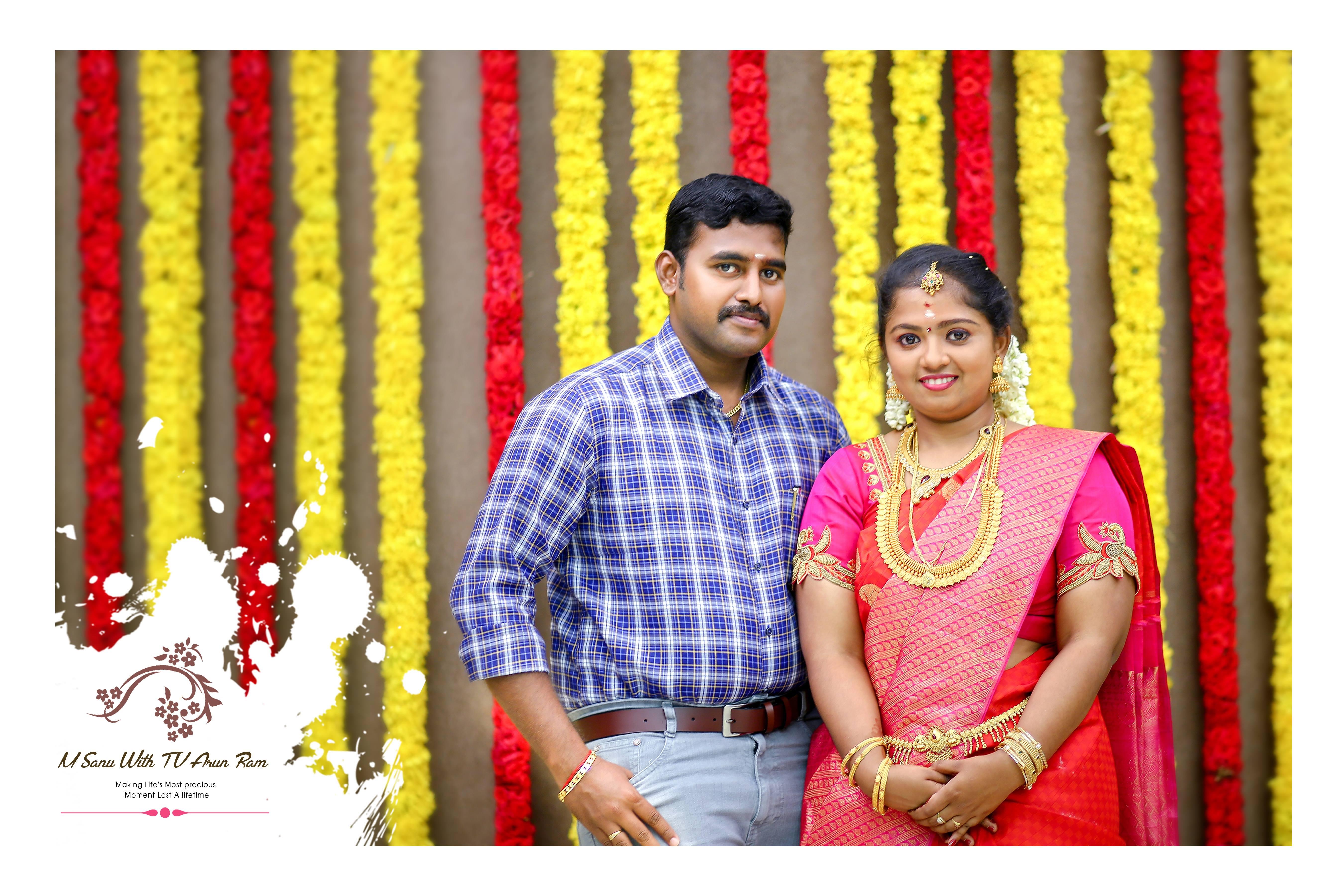 Sanu & Arun Ram Engagement Moment