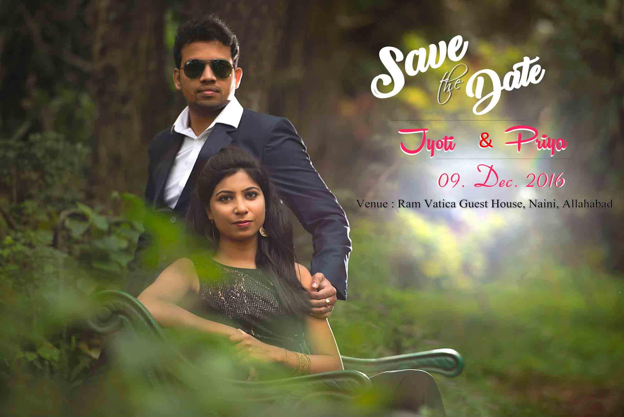 Save The Date Poster