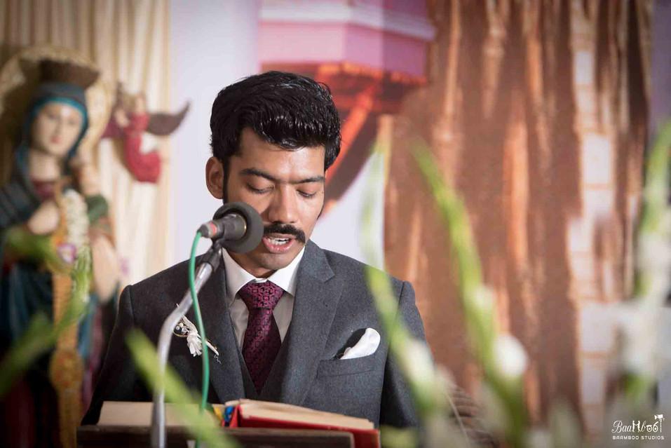 Christian Wedding shoot by Baamboo Studios in Tanjoor