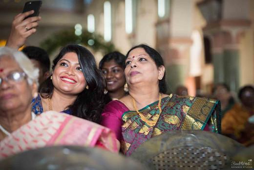 Christain wedding shoot by Baamboo Studios in Tanjoor