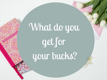 What do you get for you bucks?