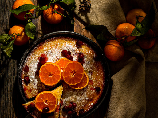 CRANBERRY ORANGE RICOTTA CAKE