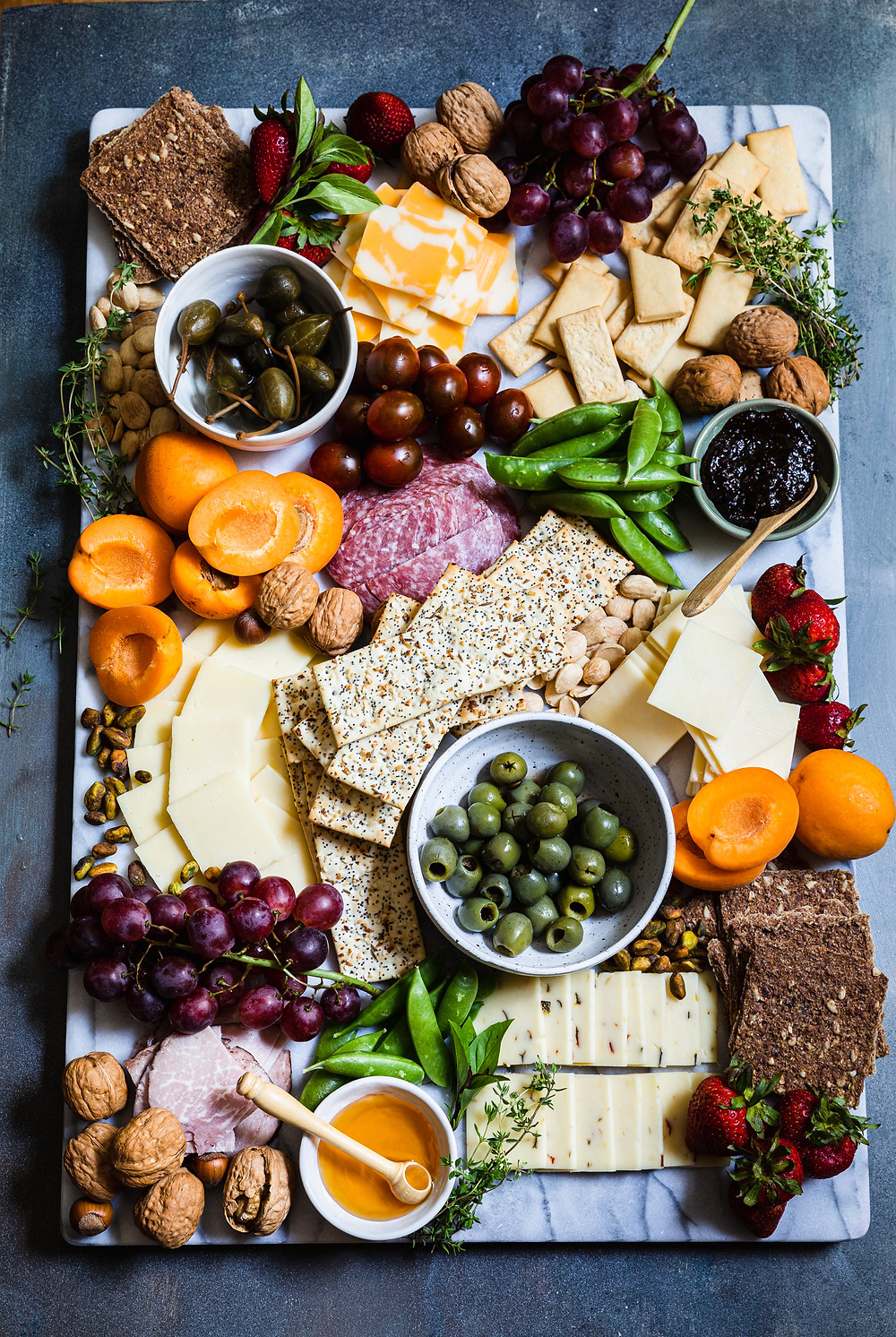 Creating a beautiful Cheese Board