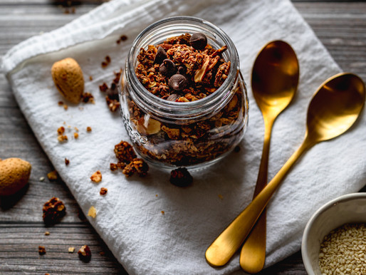 CHOCOLATE TAHINI GRANOLA