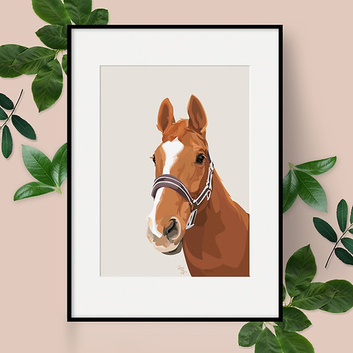 Personalised Horse Portrait