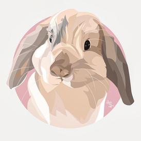 The cutest lil bun