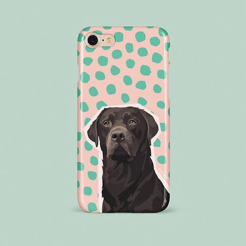 Pet Portrait Phone Case