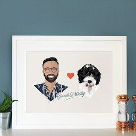 Gianni & Michy - One man and his dog