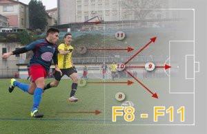 Del fútbol 8 al fútbol 11, el gran cambio