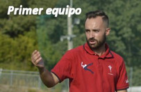 Cristian Otero entrenador del primer equipo