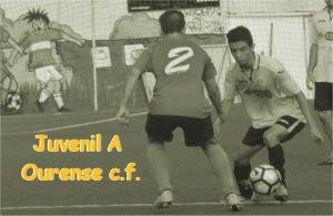 El Juvenil A gana al Ourense c.f.