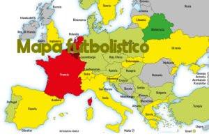 El mapa de los que pasara en Europa