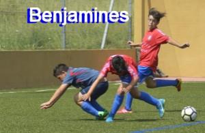 Benjamines en el torneo de Maceda