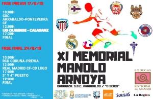 Real Madrid en el XI Memorial Arnoya