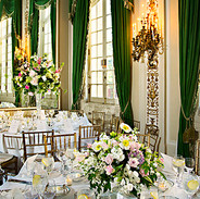 Sulgrave Club wedding guest tables, Washington, DC photo by Tracey Attlee