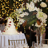 A winter wedding cake at the Sulgrave Club, Washington, DC, photo Tracey Attlee