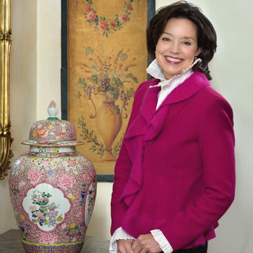 Former Oklahoma First Lady Cathy Keating photographed in her home by Tracey Attlee